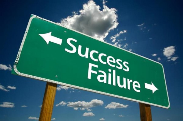 success and failures of a company
