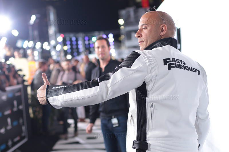 Fast & Furious 7 Premiere in Los Angeles