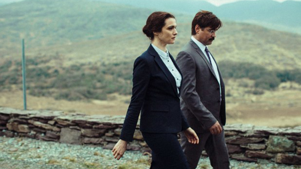 the lobster rachel weisz kai colin farrell στην ταινία ο αστακός