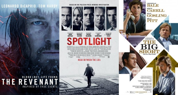 oscars best picture spotlight revenant the big short